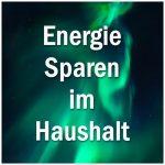 Energie Sparen Haushalt 600